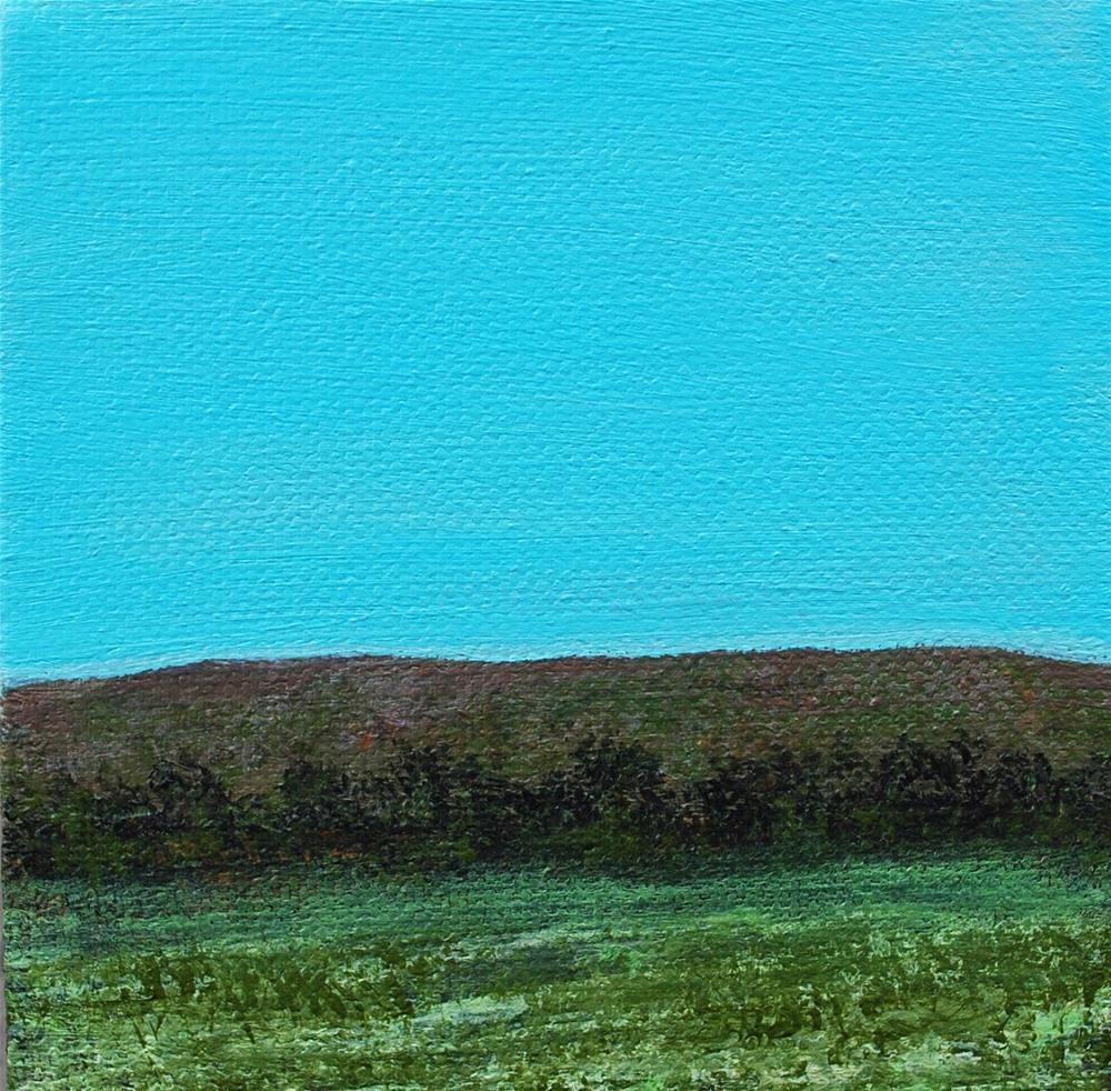 """Hill Country "" original fine art by Eva Art"