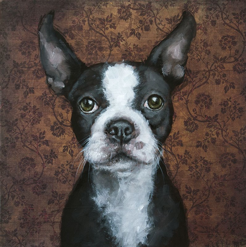 """Marty"" original fine art by Clair Hartmann"