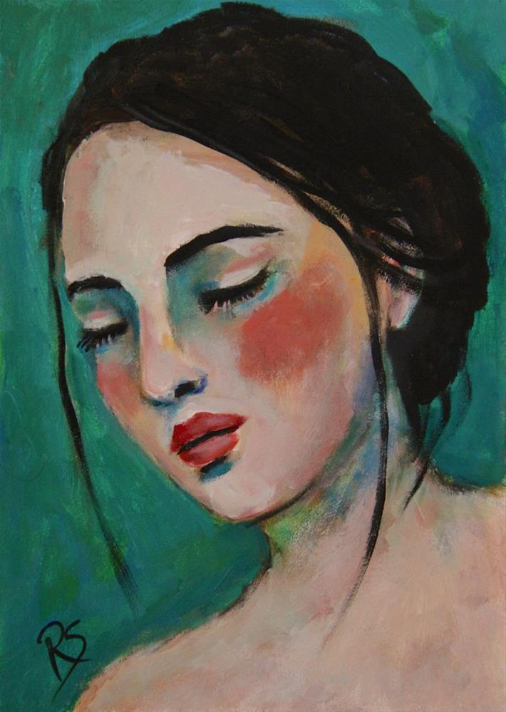 """What Dreams May Come"" original fine art by Roberta Schmidt"
