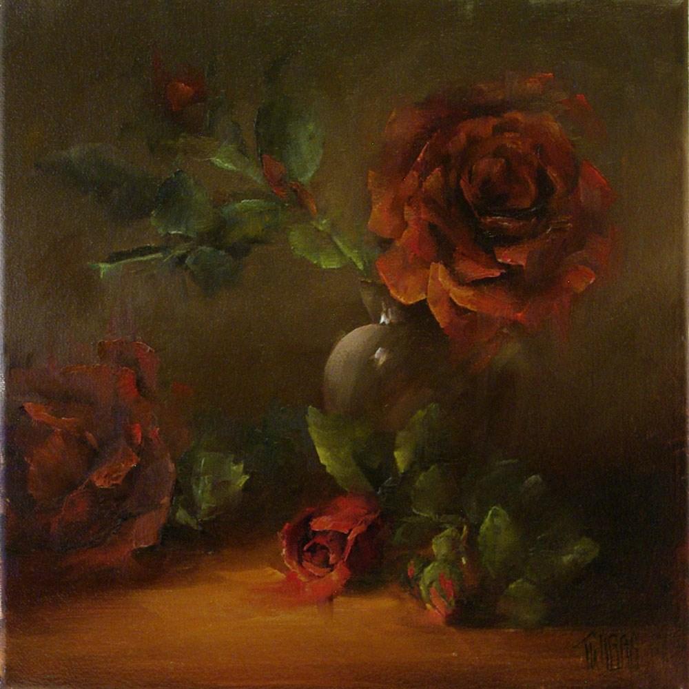 """Love You Forever"" original fine art by Lori Twiggs"