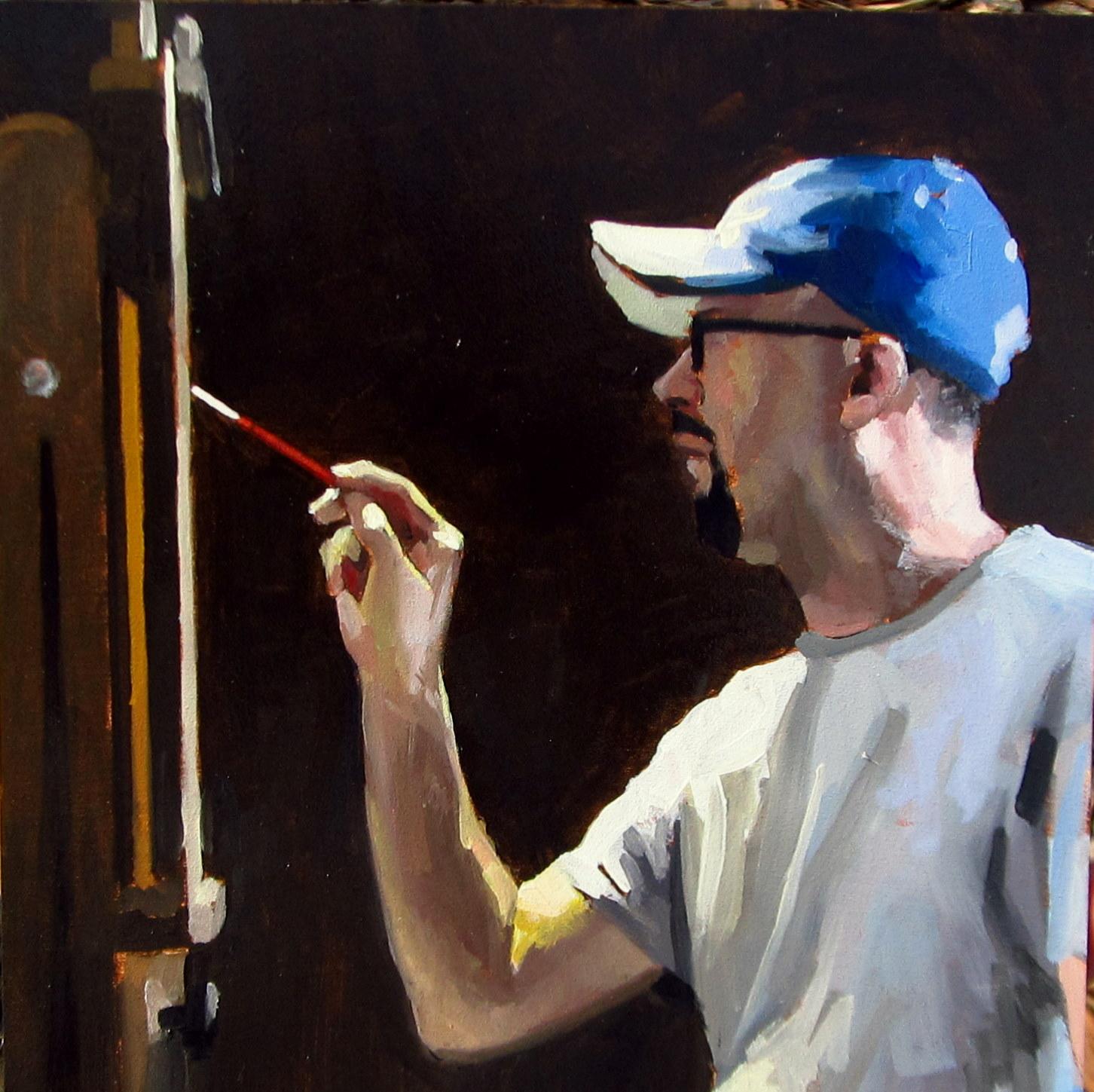 """""""ART 4 DIAPERS (DAILY DIAPER #188) In Progress"""" original fine art by Brian Burt"""