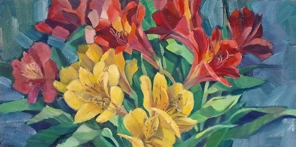 """Warmth for February"" original fine art by Nicoletta Baumeister"