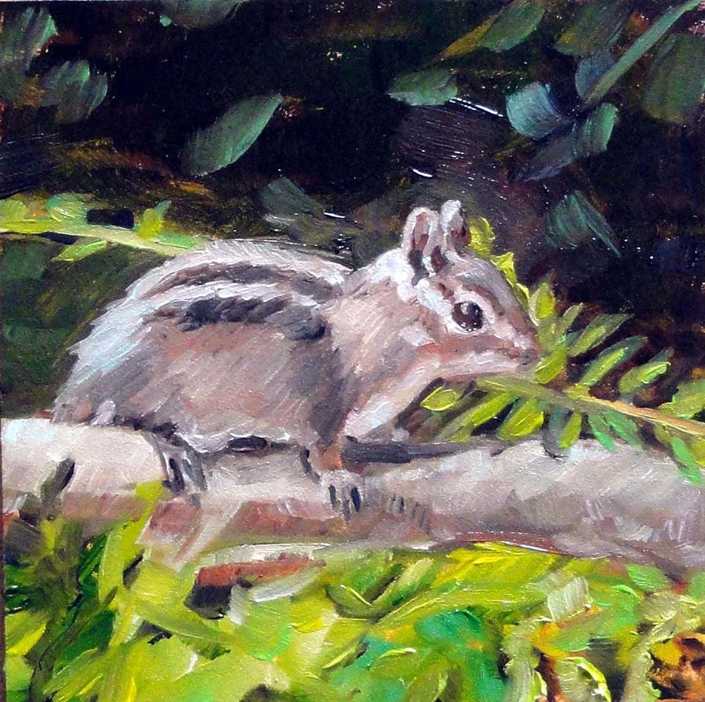 """Alvin"" original fine art by Cietha Wilson"