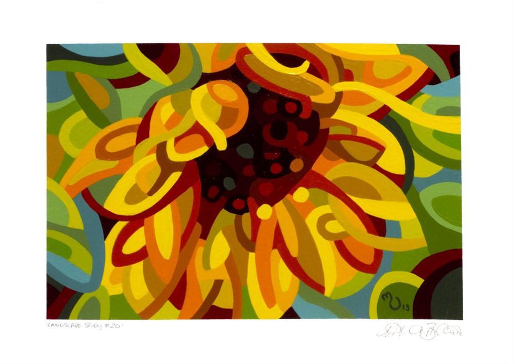 """Landscape Study #20"" original fine art by Mandy Budan"