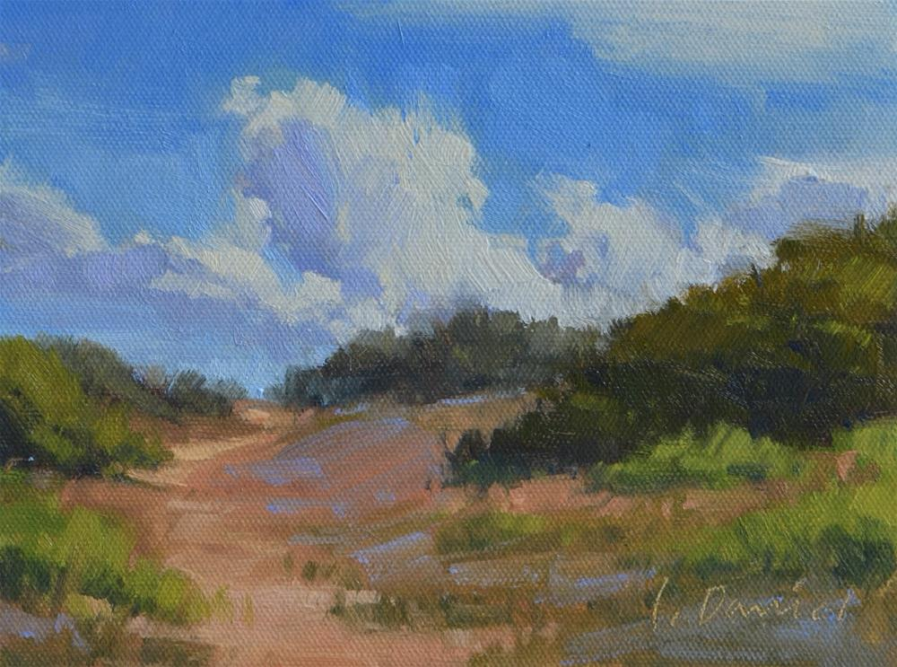 """Dune Walk Study"" original fine art by Laurel Daniel"