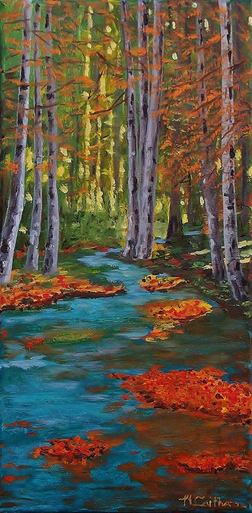 """Autumn In The Air"" original fine art by Mike Caitham"