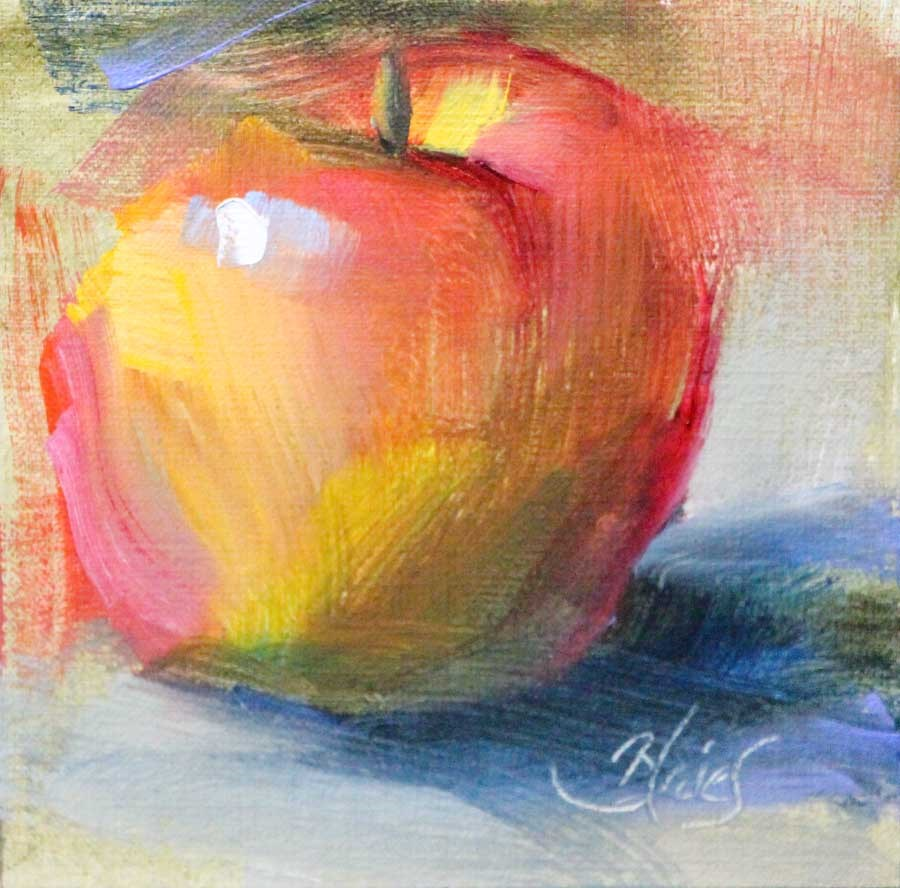 """Pink Lady"" original fine art by Pamela Blaies"