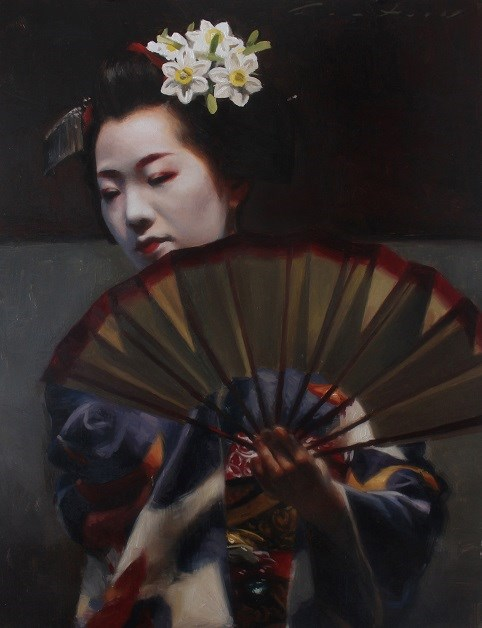 """Maiko Tomitae Dance"" original fine art by Phil Couture"