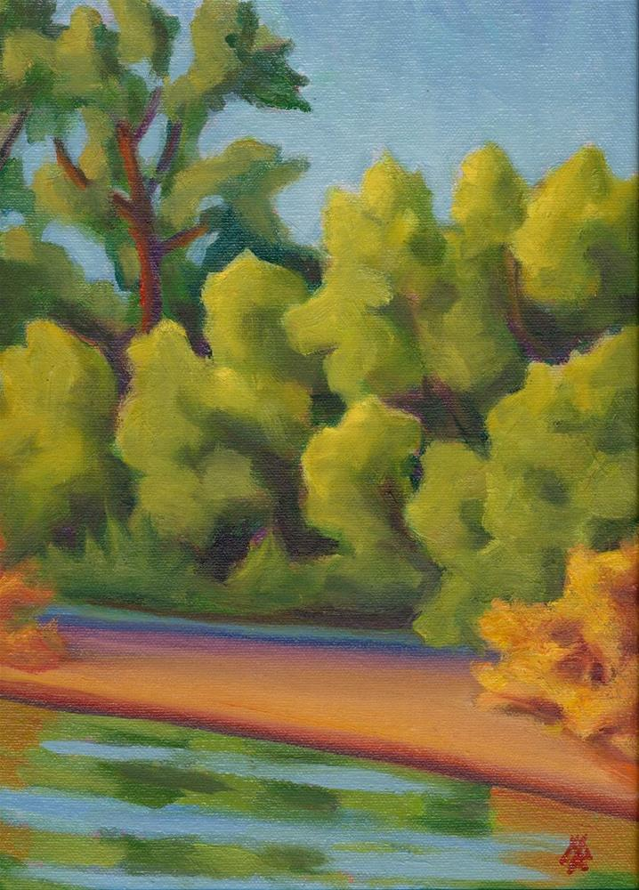 """North Willamette Park"" original fine art by Mark Allison"