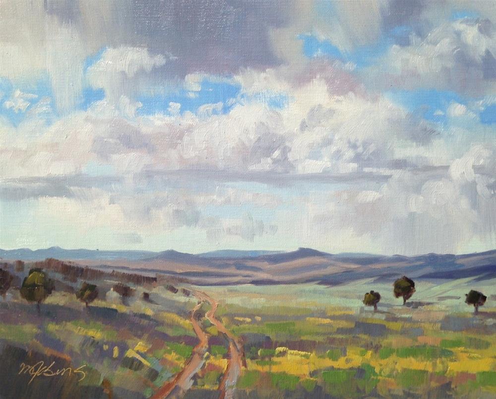 """September Chamisa"" original fine art by Mary Jabens"