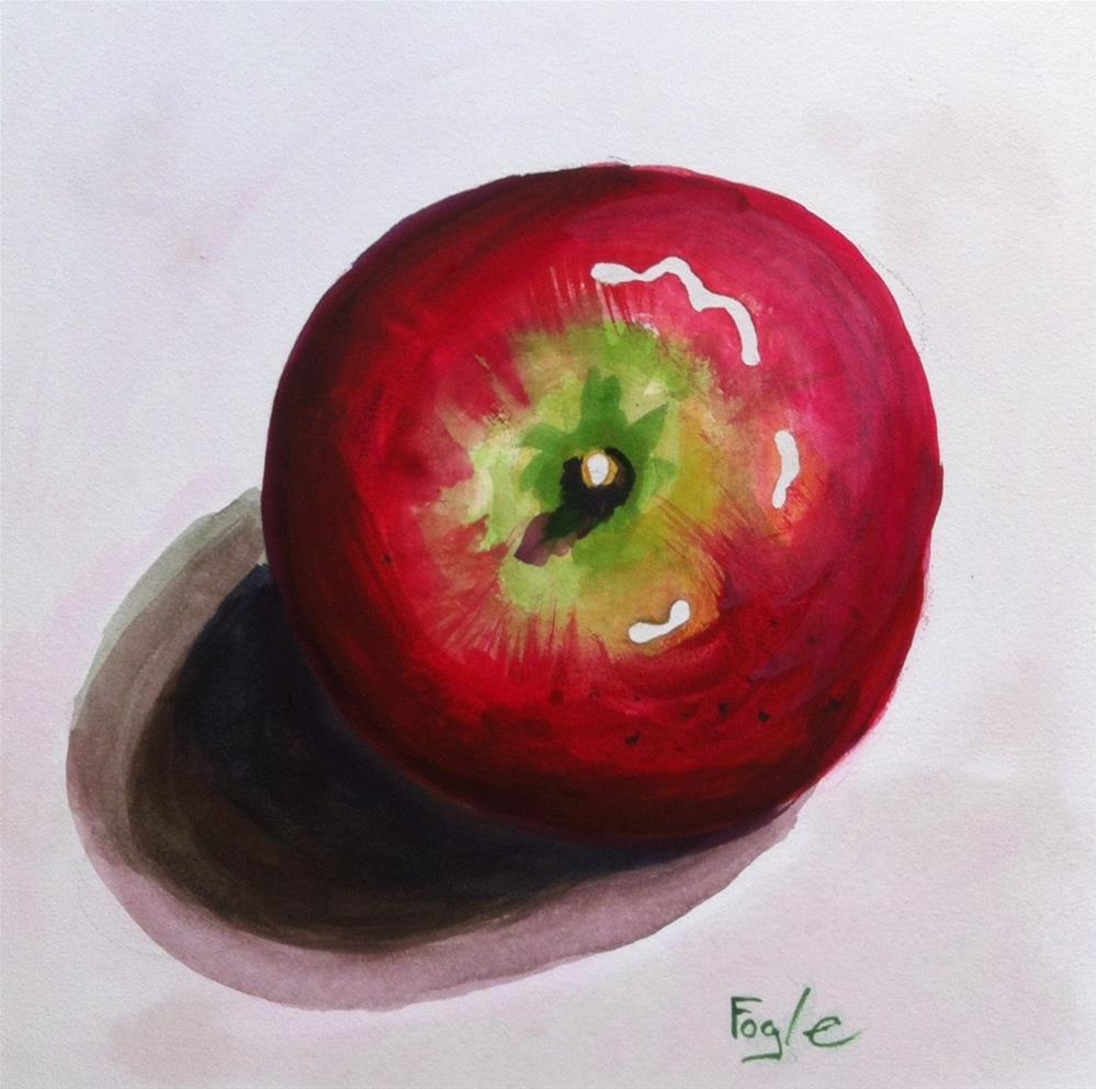 """From the Top"" original fine art by Rachel Fogle"