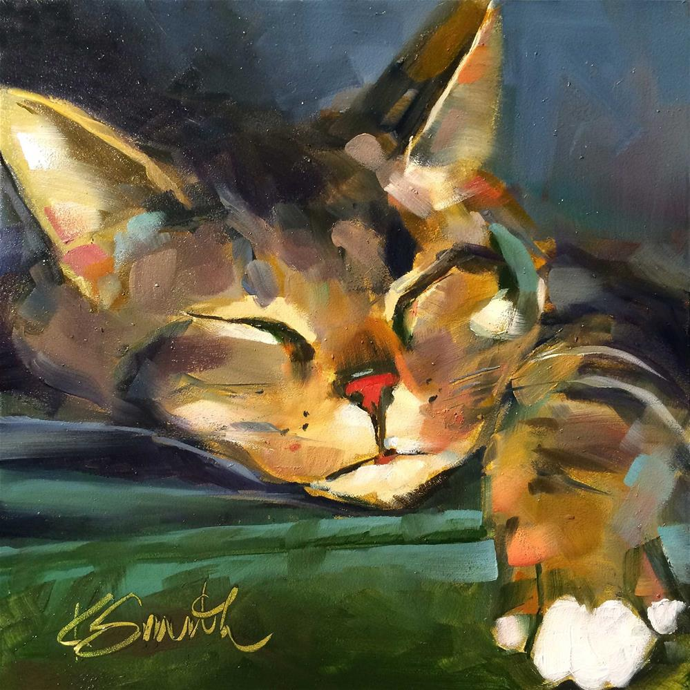 """oliver"" original fine art by Kim Smith"