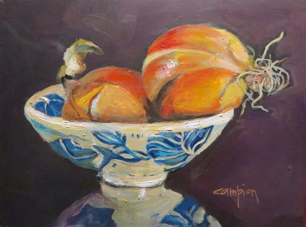 """""""564 Misunderstanding"""" original fine art by Diane Campion"""