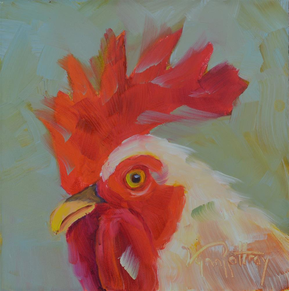 """Gus"" original fine art by Lynn Rattray"