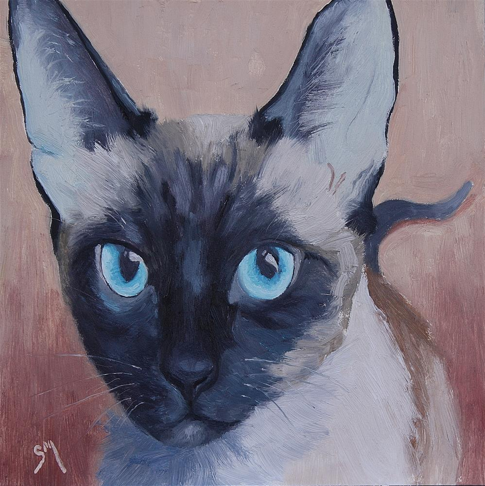 """Josey"" original fine art by Sheila Marie"