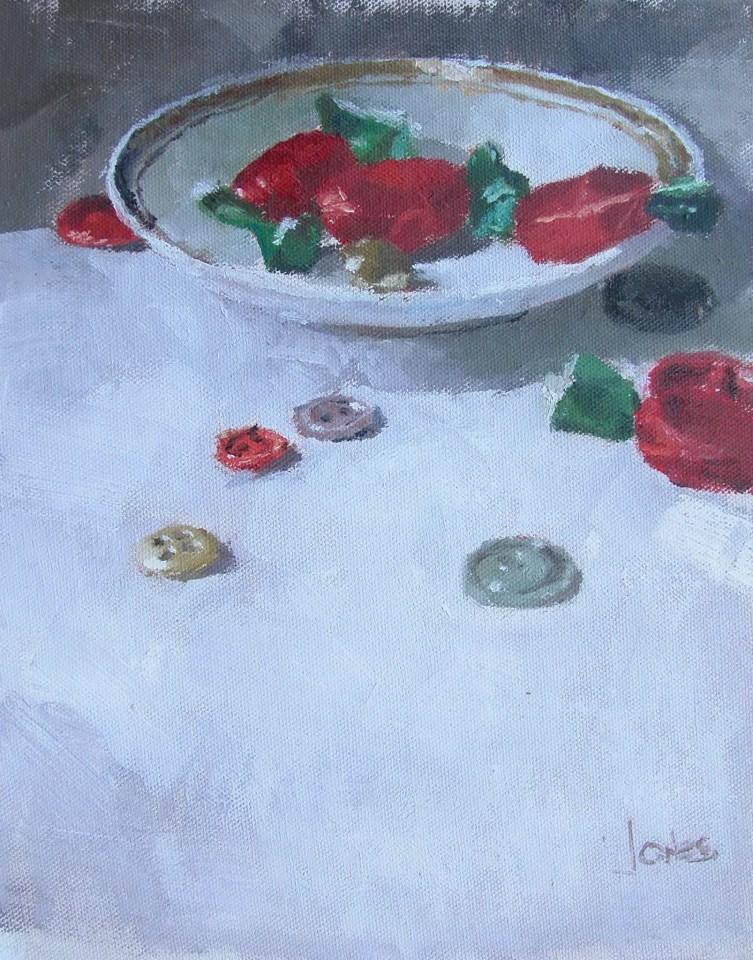 """""""Leftovers"""" original fine art by Richard Jones"""