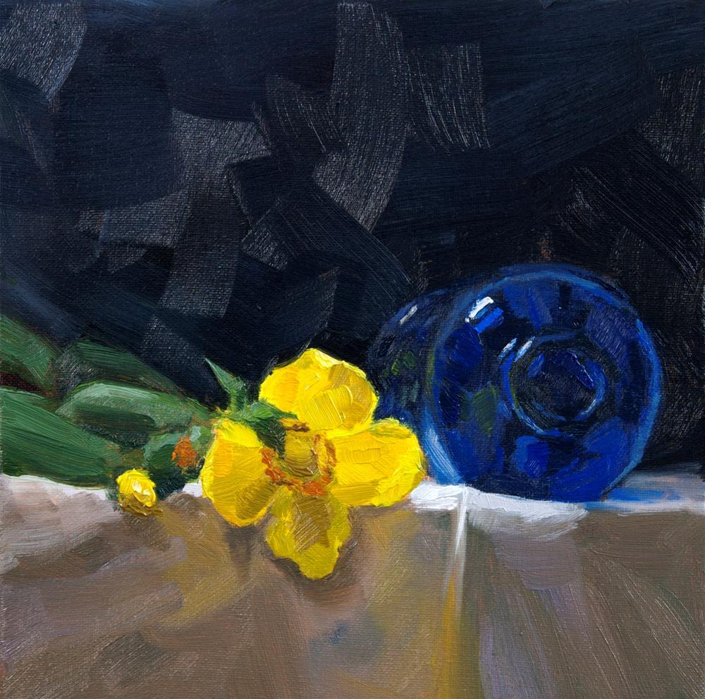 """Struggle"" original fine art by Johan Derycke"