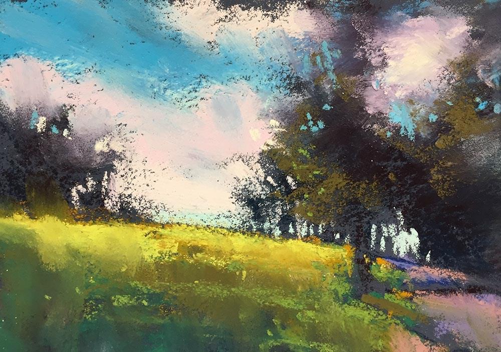 """""""Maui Moringin"""" original fine art by Marla Baggetta"""