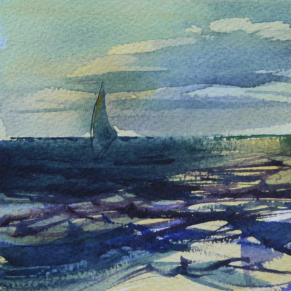 """sail"" original fine art by Beata Musial-Tomaszewska"