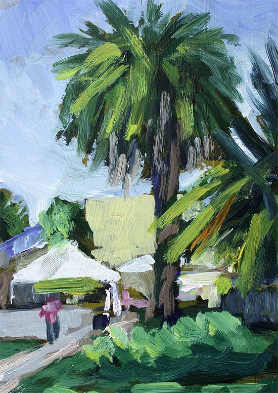 """Farmer's Palm"" original fine art by J. Farnsworth"
