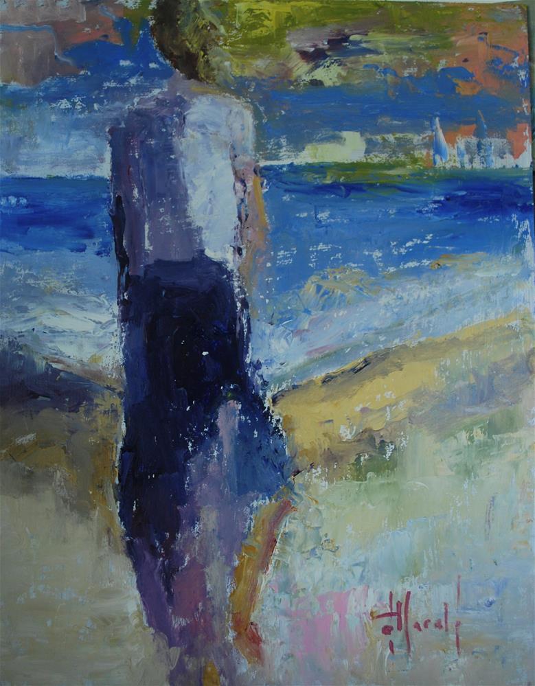 """Shore Thing"" original fine art by Deborah Harold"