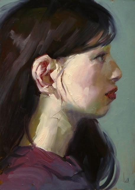 """Quiet"" original fine art by John Larriva"
