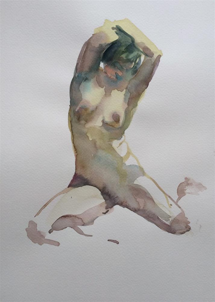 """Life drawing 5"" original fine art by Nicoletta Baumeister"