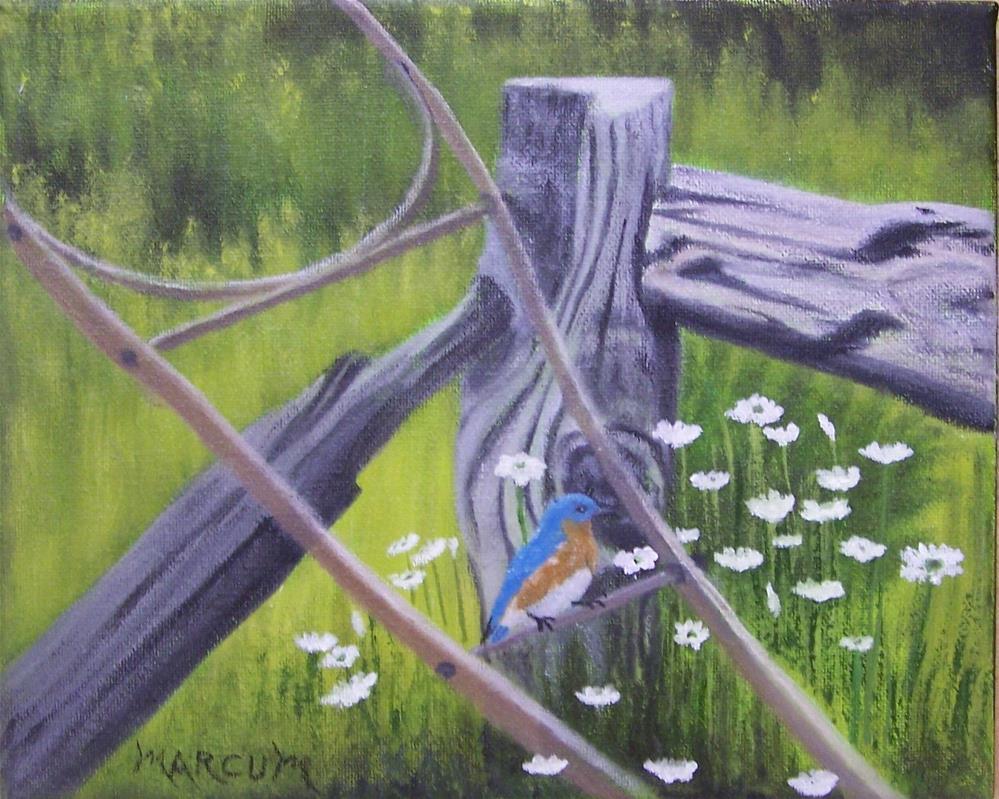 """Resting"" original fine art by John Marcum"