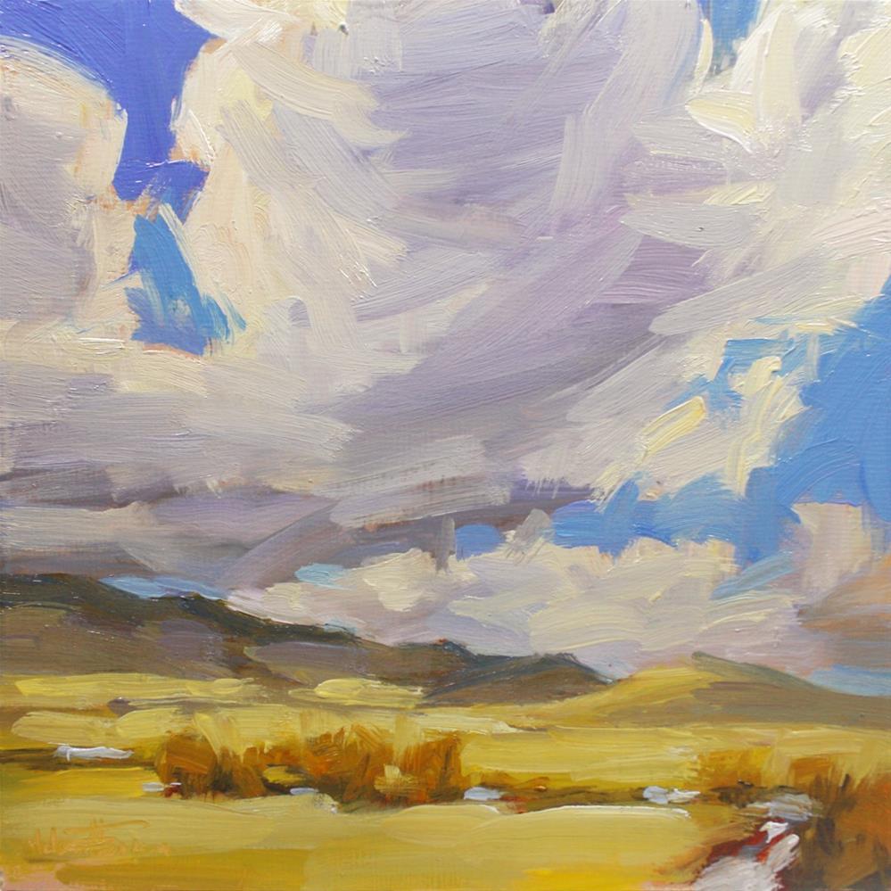 """Red Willows"" original fine art by Melanie Thompson"