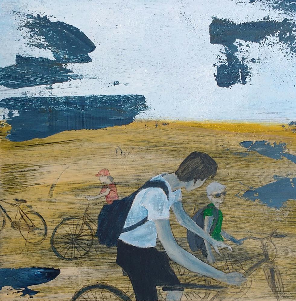 """ride"" original fine art by Sandra Woerner"