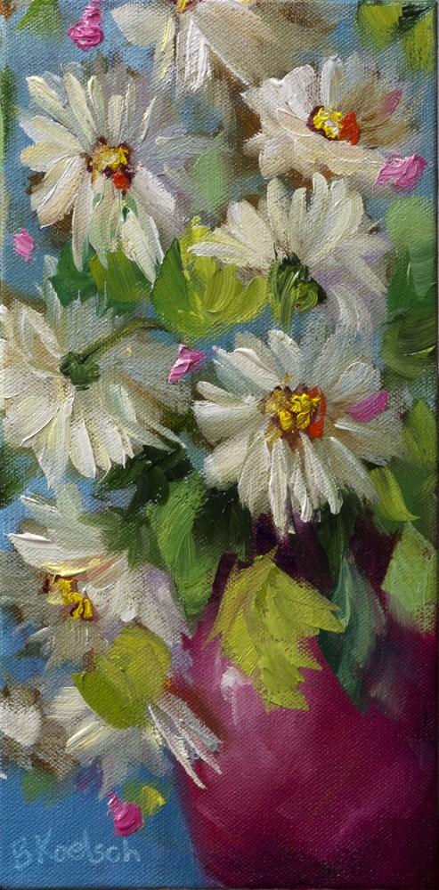 """Daisy Doodles"" original fine art by Bobbie Koelsch"