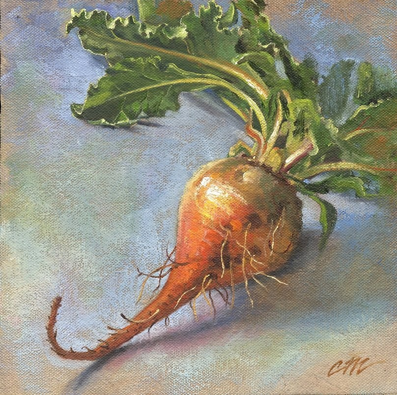 """Hybrid Beet"" original fine art by Connie McLennan"