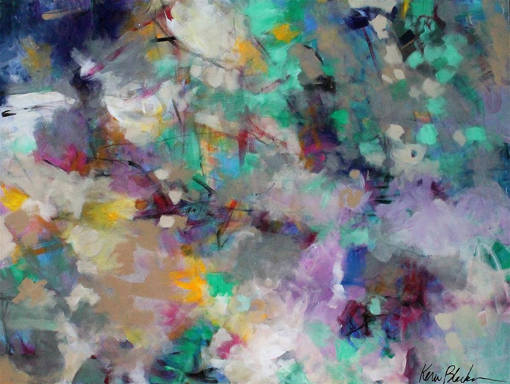 """Under a Leafy Canopy"" original fine art by Kerri Blackman"