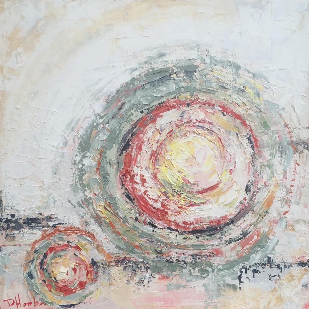 """""""in my heart"""" original fine art by Denise Hopkins"""