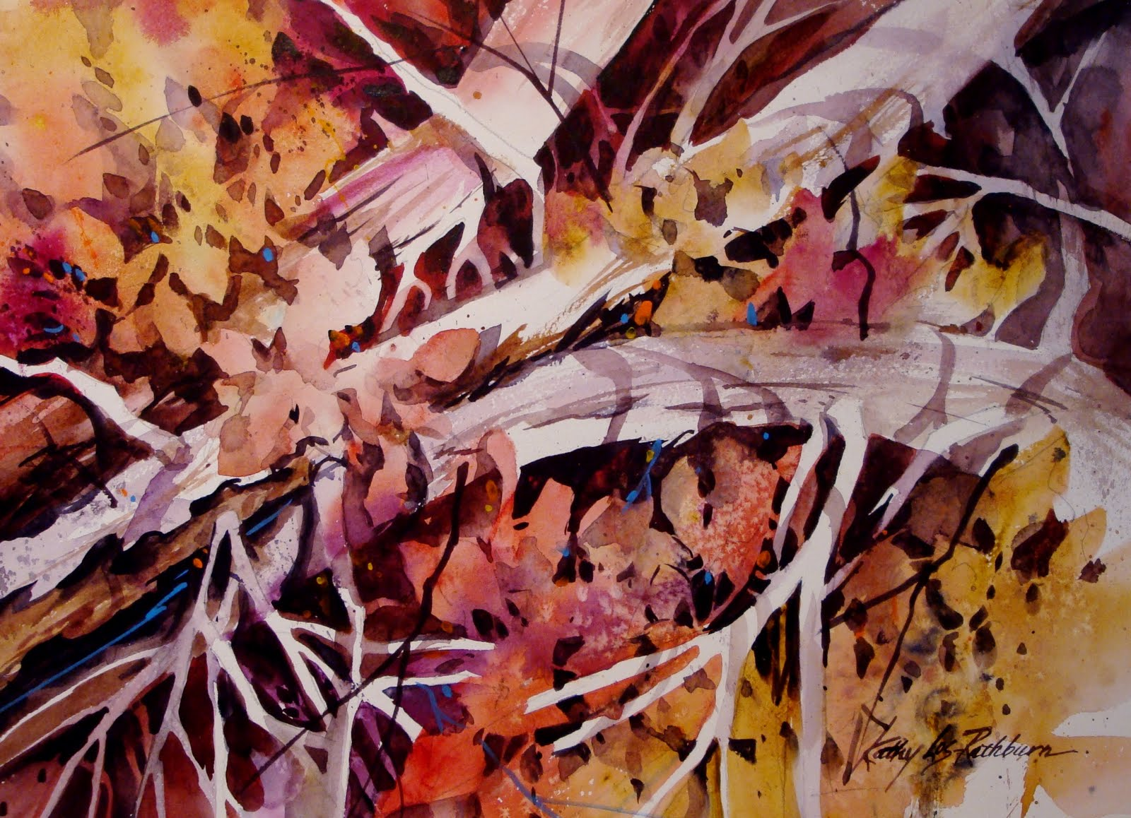 """Branching Out"" original fine art by Kathy Los-Rathburn"