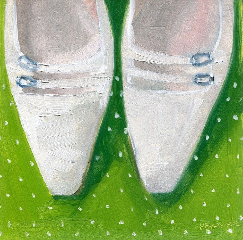 """""""Vintage Flair"""" original fine art by Heather Bennett"""