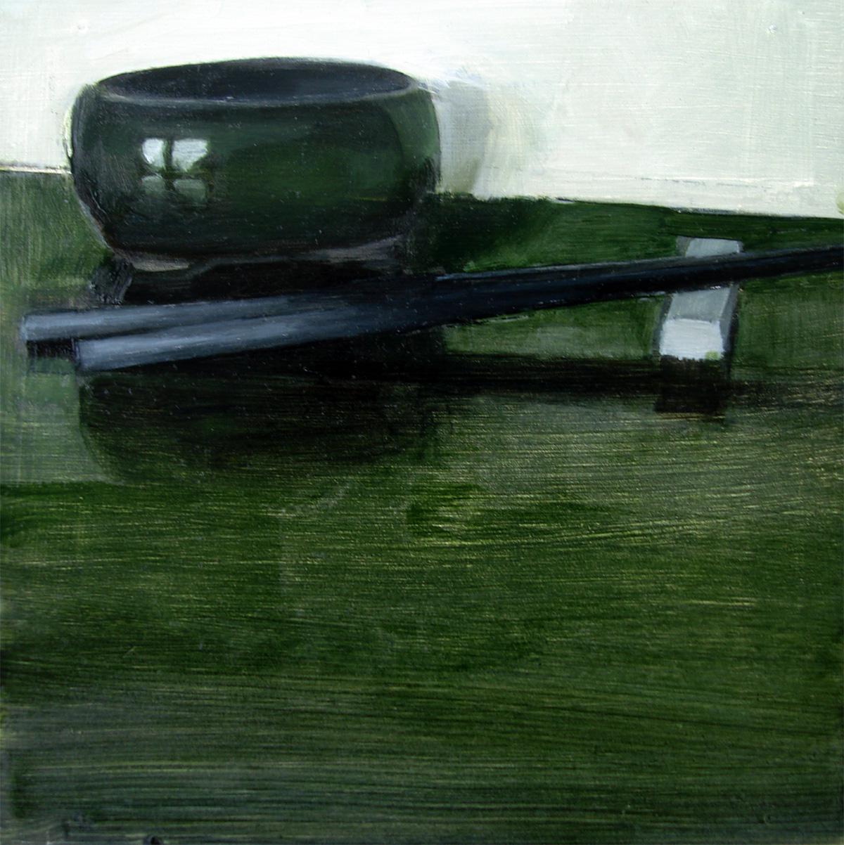 """Chopsticks (no.36)"" original fine art by Michael William"