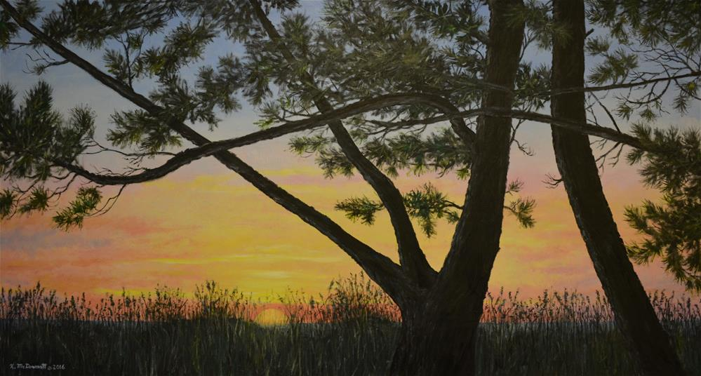 """Ocean Pines"" original fine art by Kathleen McDermott"