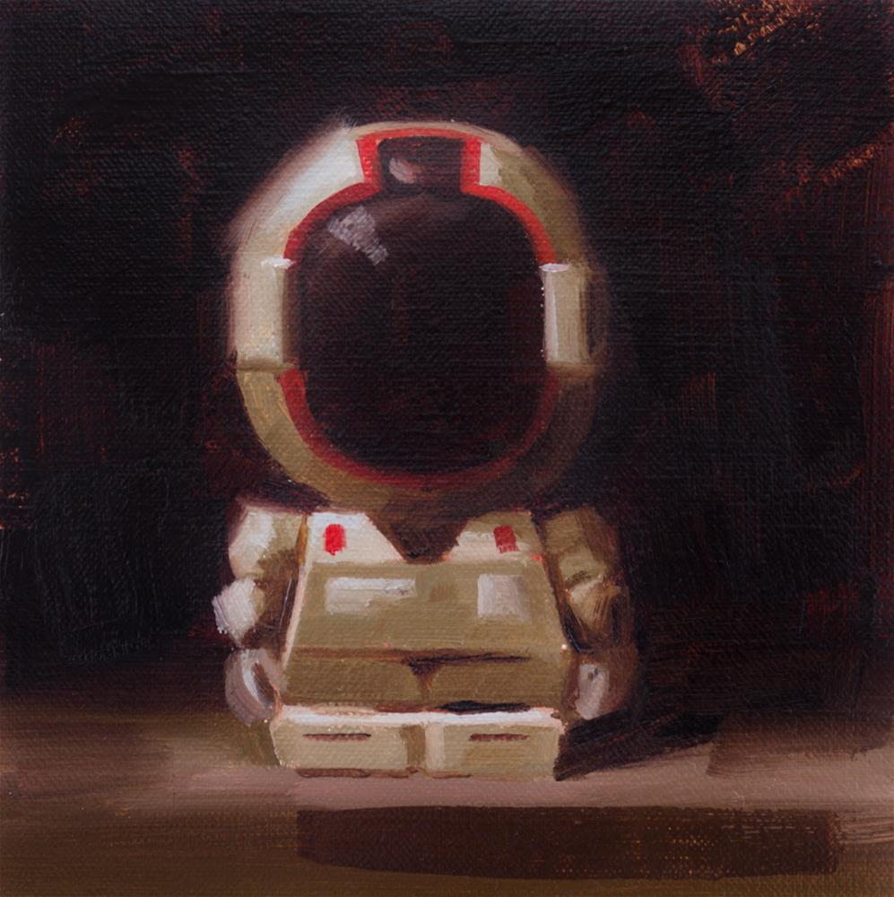 """A fascination with robots"" original fine art by Thorgrimur Andri Einarsson"