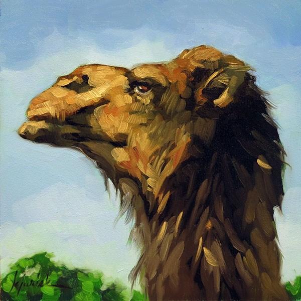 """""""Joe"""" original fine art by Karin Jurick"""