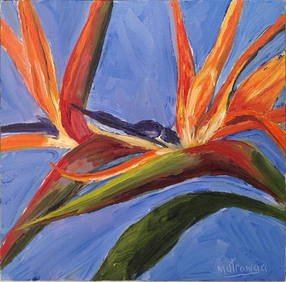 """Bird Of Paradise"" original fine art by Patricia Matranga"