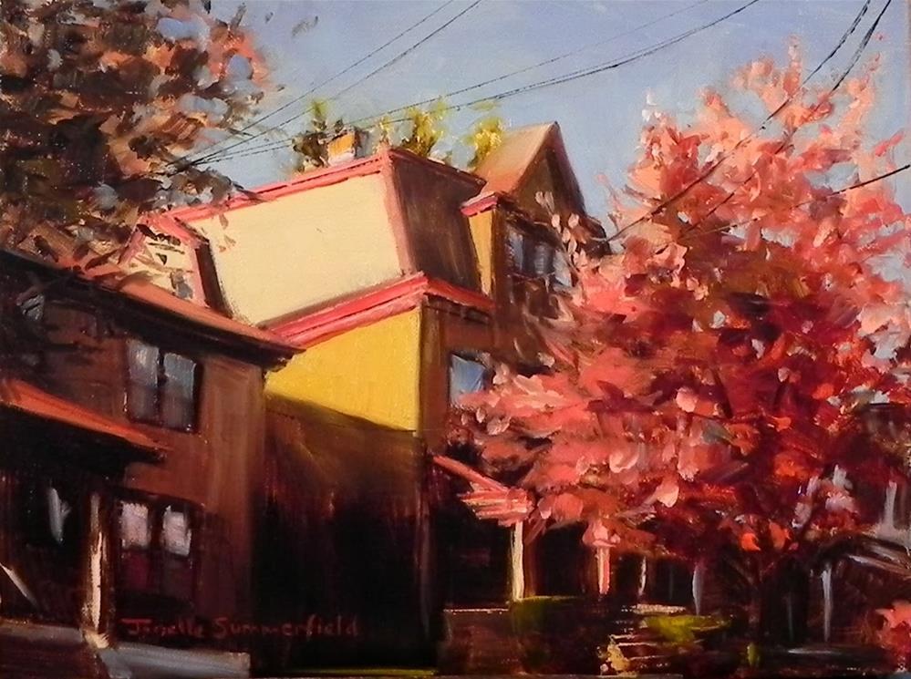 """""""Shadyside II"""" original fine art by Jonelle Summerfield"""