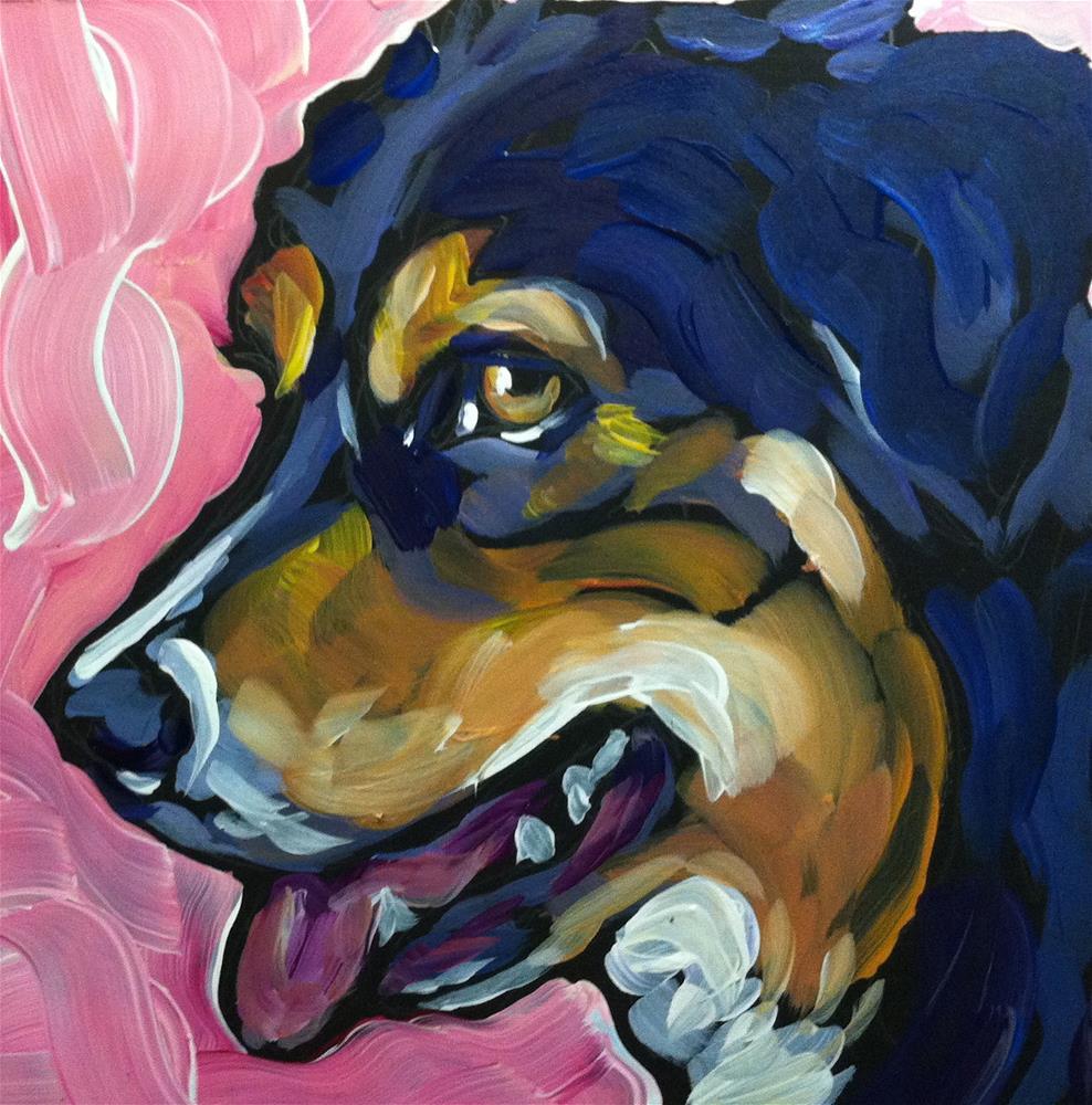 """Bandito"" original fine art by Kat Corrigan"