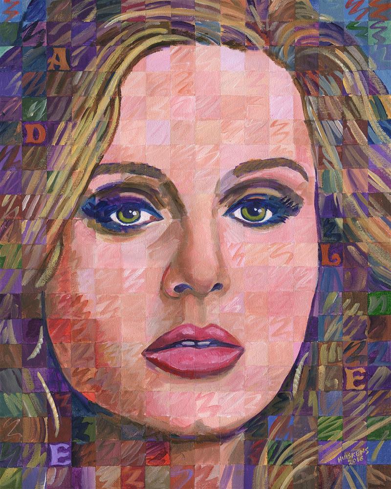 """Adele"" original fine art by Randal Huiskens"