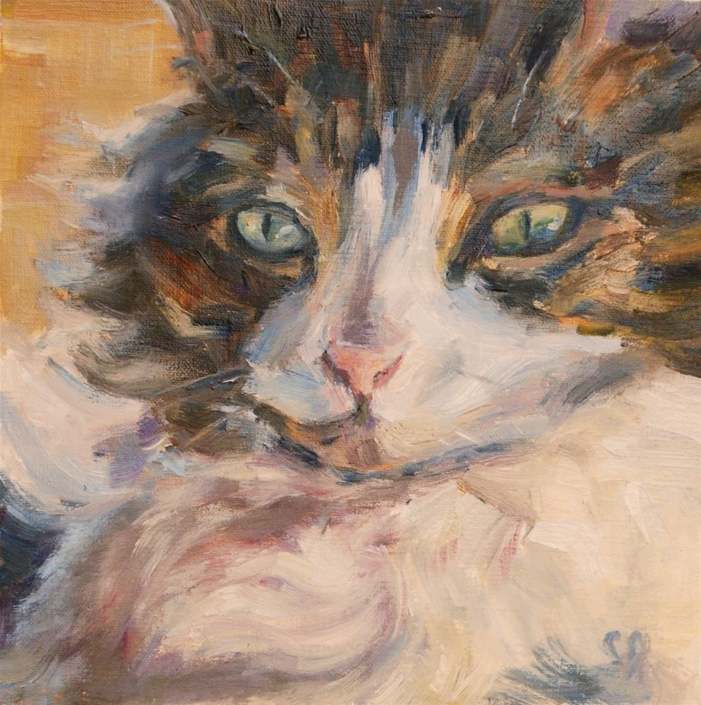 """The Glare"" original fine art by Carol DeMumbrum"