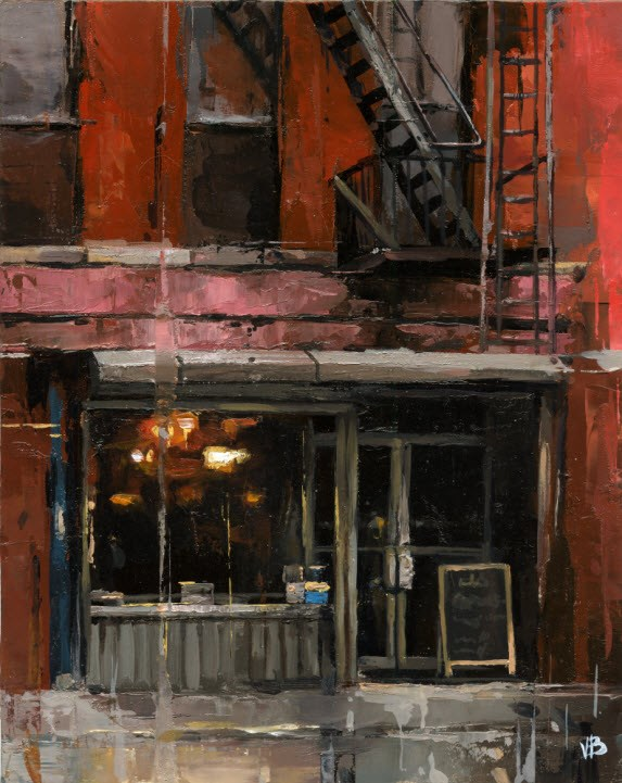 """tribeca NYC"" original fine art by Victor Bauer"