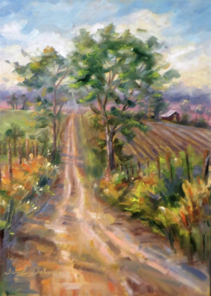 """Old Dirt Road"" original fine art by Tammie Dickerson"