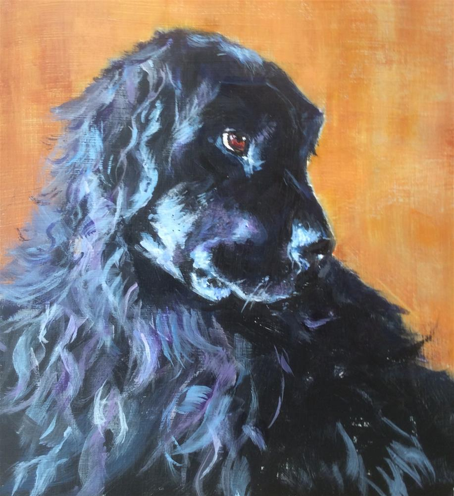 """Newfoundland Beauty"" original fine art by wendy black"