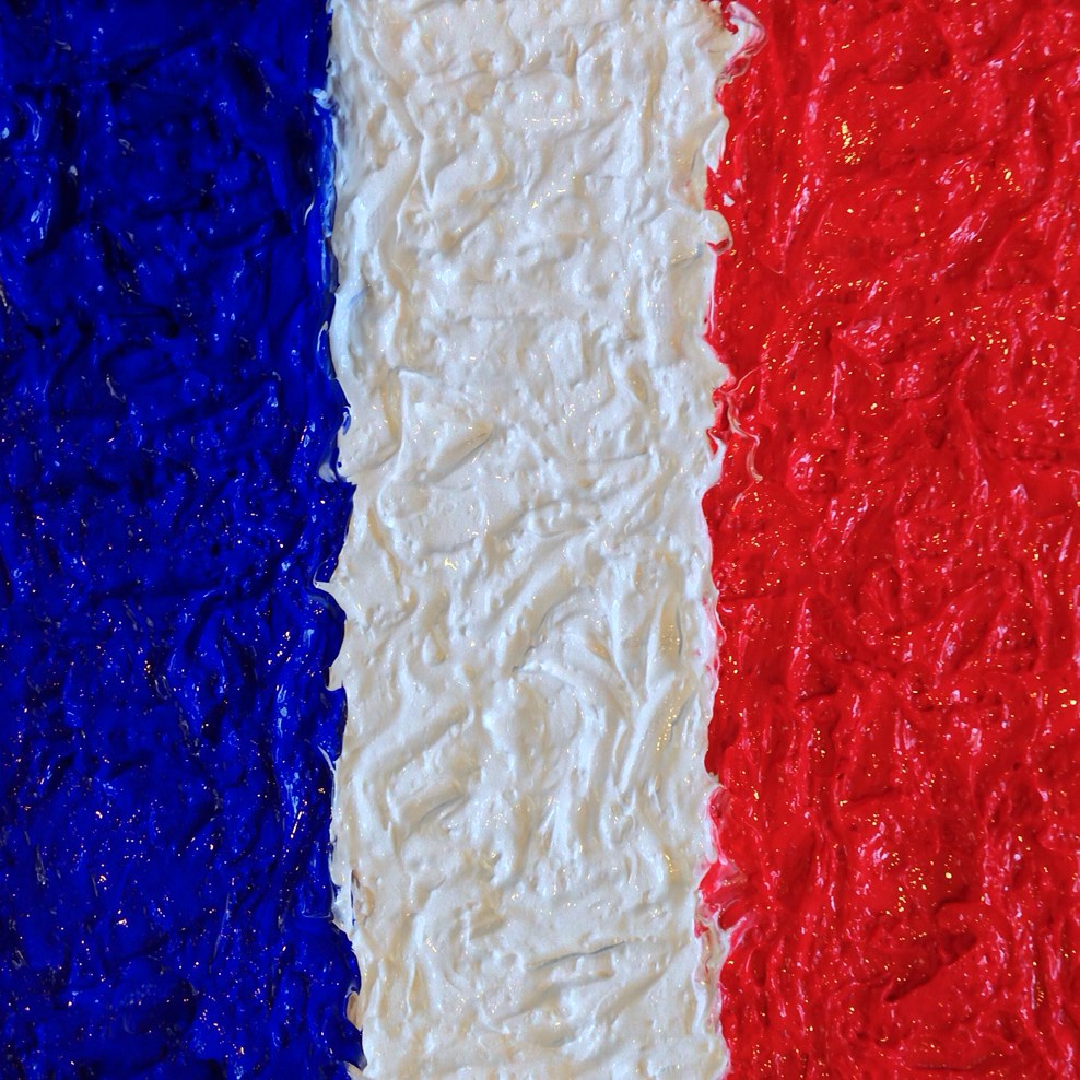 """French Colors"" original fine art by Jamie Williams Grossman"