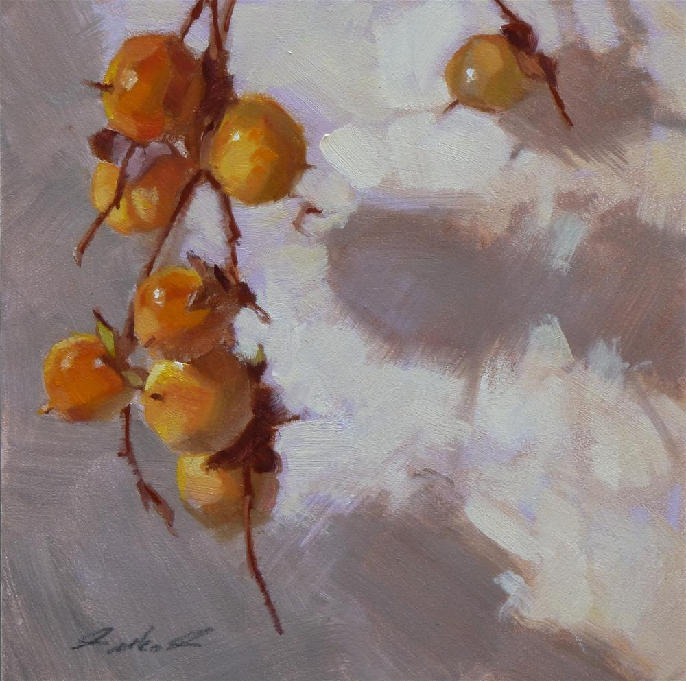 """Wild Persimmons #1 2012"" original fine art by Ron Ferkol"